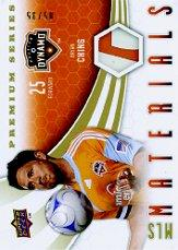 2010 Upper Deck MLS Materials Premium Series #BC Brian Ching