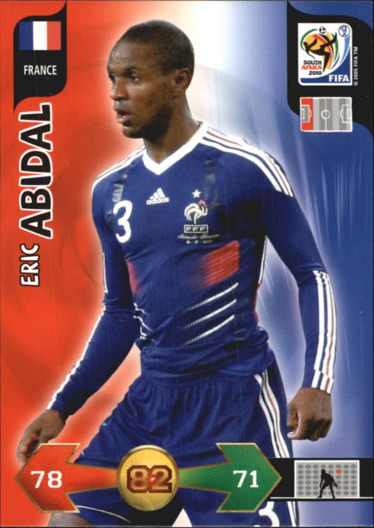 2010 Adrenalyn XL World Cup #1 Eric Abidal