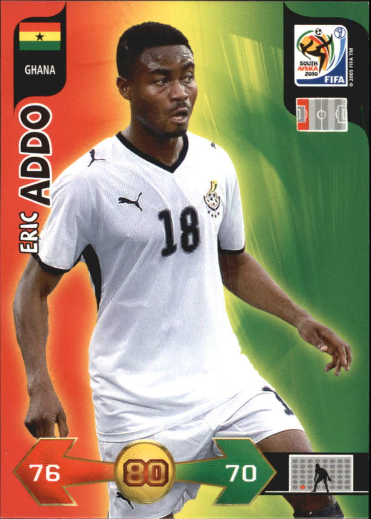 2010 Adrenalyn XL World Cup #2 Eric Addo