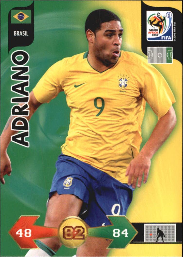 2010 Adrenalyn XL World Cup #3 Adriano