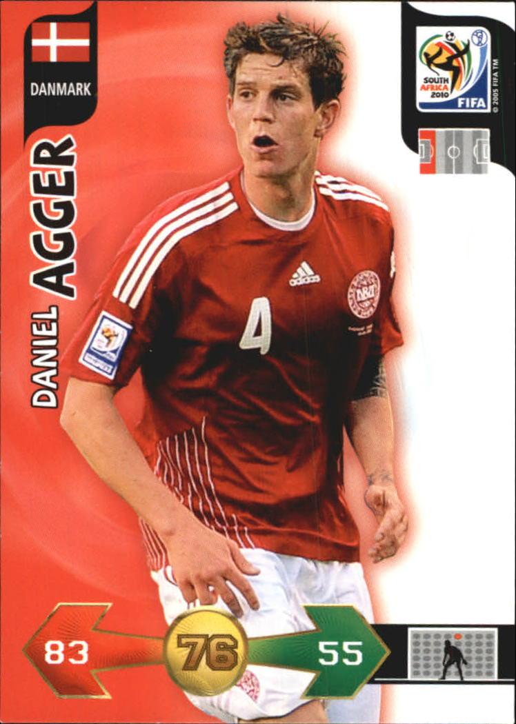 2010 Adrenalyn XL World Cup #4 Daniel Agger