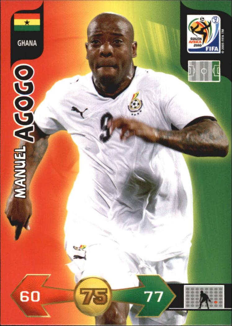 2010 Adrenalyn XL World Cup #5 Manuel Agogo