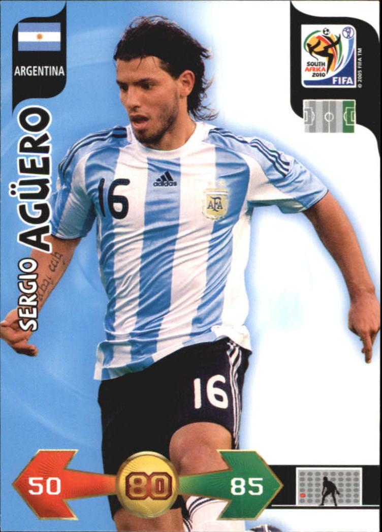 2010 Adrenalyn XL World Cup #6 Sergio Aguero