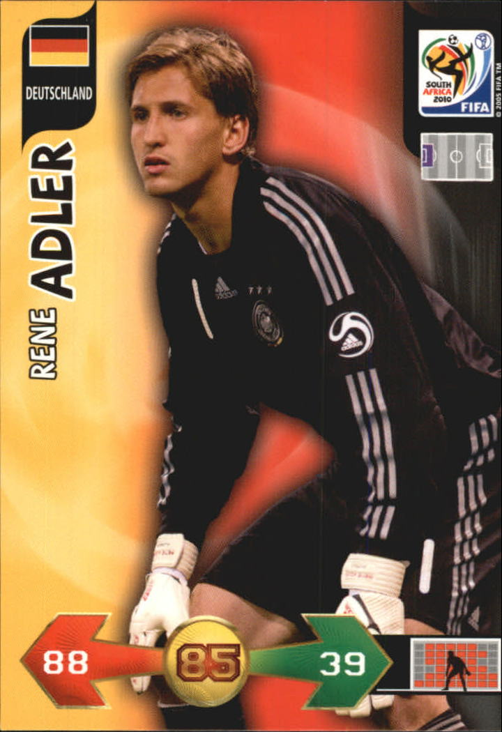 2010 Adrenalyn XL World Cup #8 Rene Alder