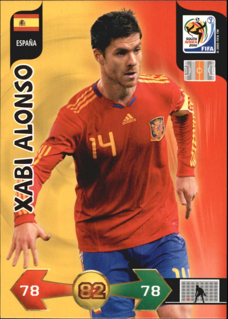 2010 Adrenalyn XL World Cup #9 Xabi Alonso