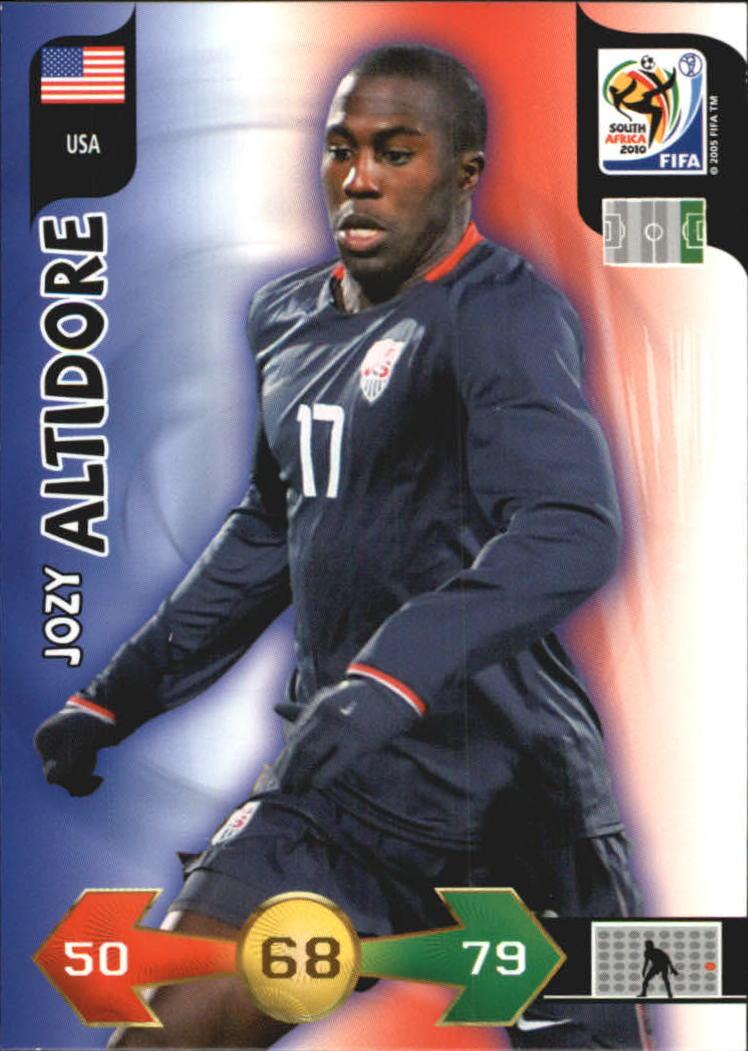 2010 Adrenalyn XL World Cup #10 Jozy Altidore