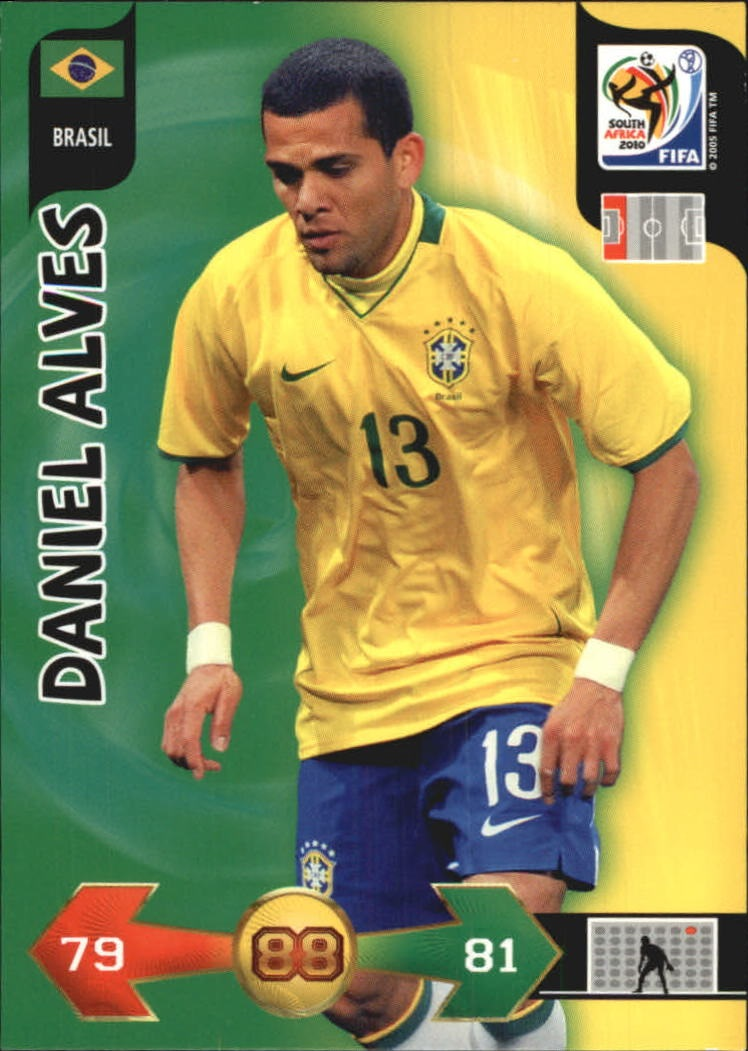 2010 Adrenalyn XL World Cup #11 Daniel Alves