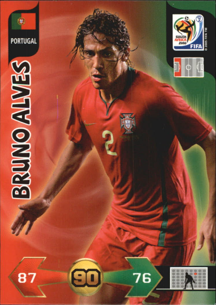2010 Adrenalyn XL World Cup #12 Bruno Alves