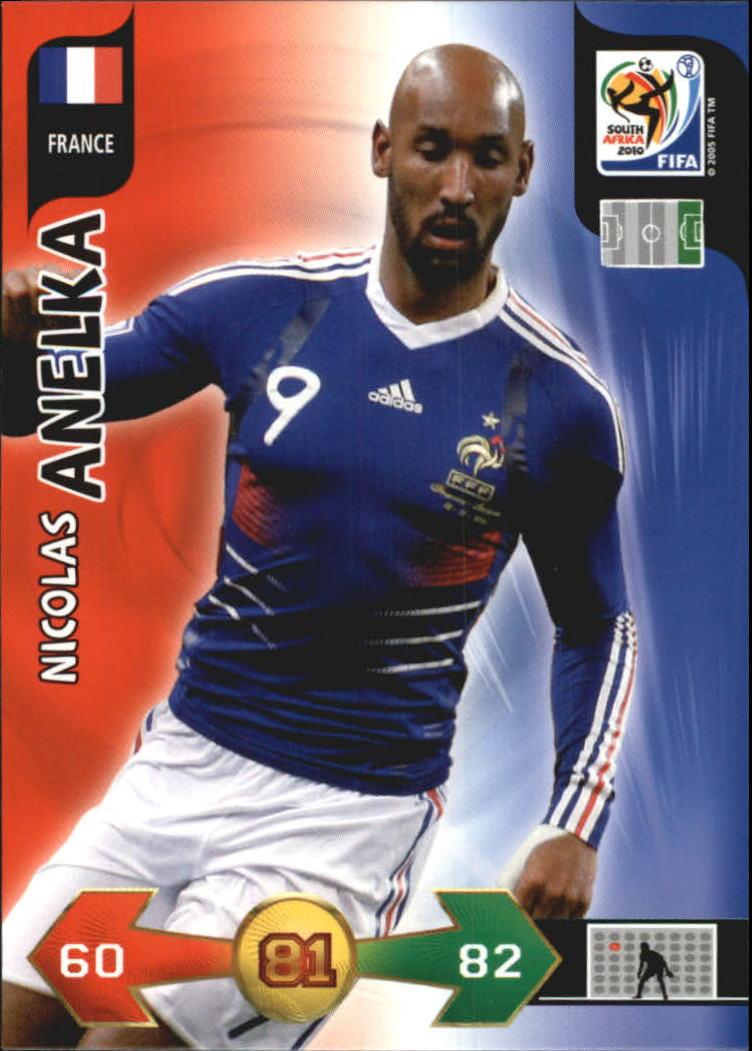2010 Adrenalyn XL World Cup #13 Nicolas Anelka