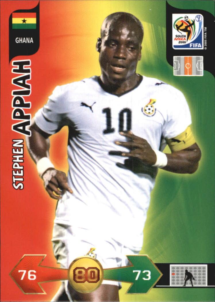 2010 Adrenalyn XL World Cup #14 Stephen Appiah
