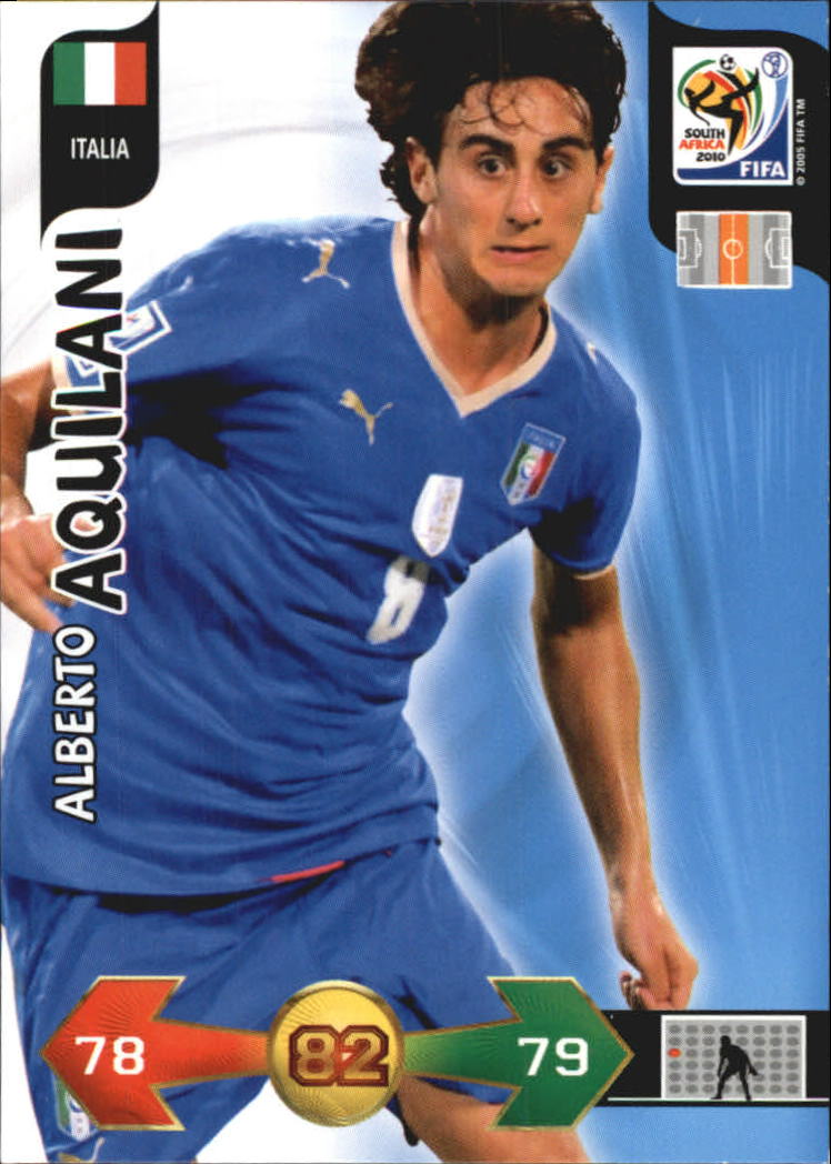 2010 Adrenalyn XL World Cup #15 Alberto Aquilani