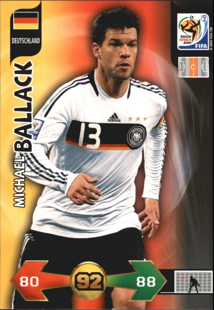 2010 Adrenalyn XL World Cup #17 Michael Ballack