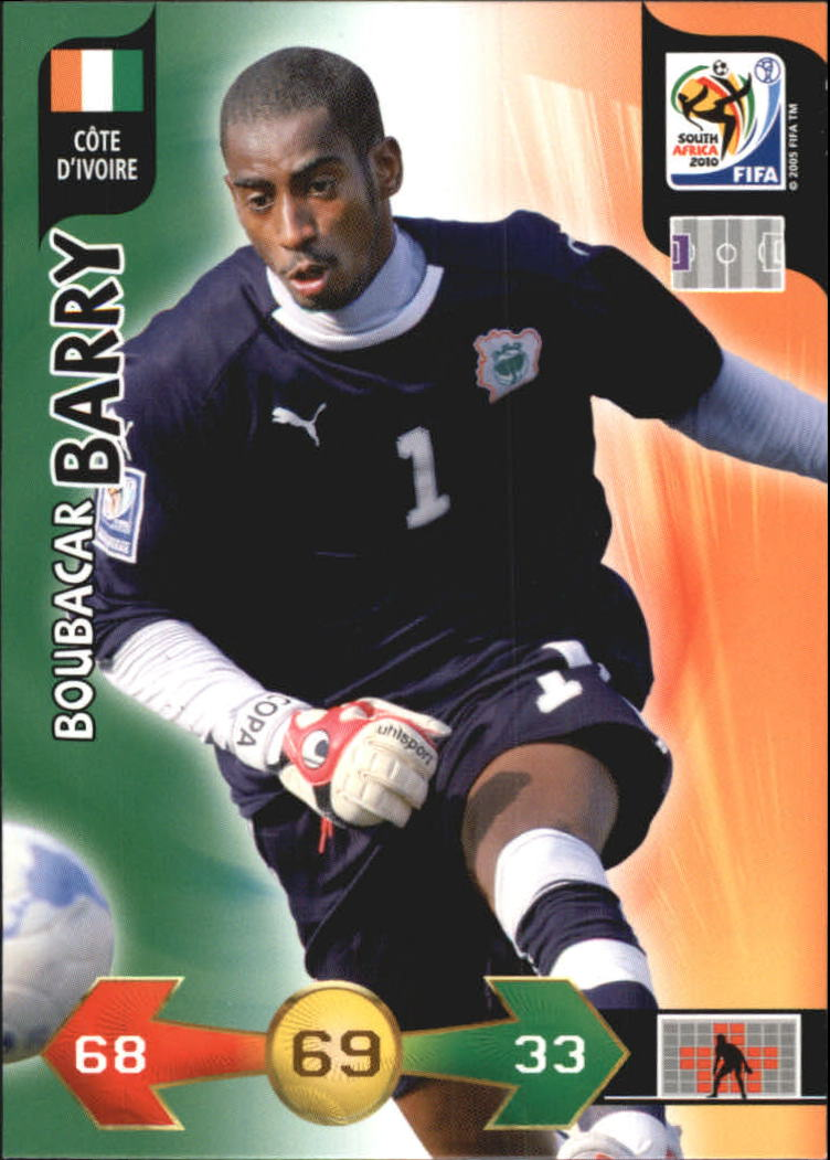 2010 Adrenalyn XL World Cup #20 Boubacar Barry