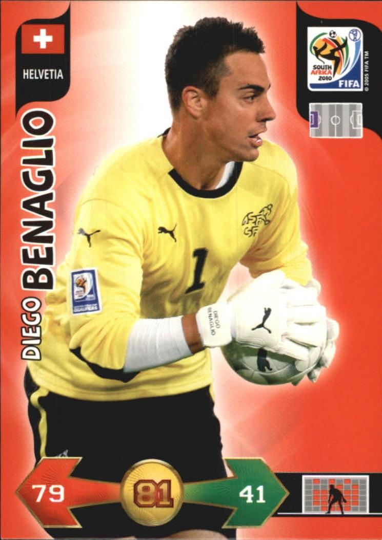 2010 Adrenalyn XL World Cup #22 Diego Benaglio