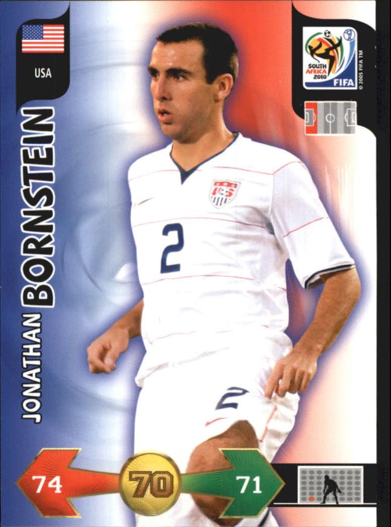 2010 Adrenalyn XL World Cup #26 Jonathan Bornstein