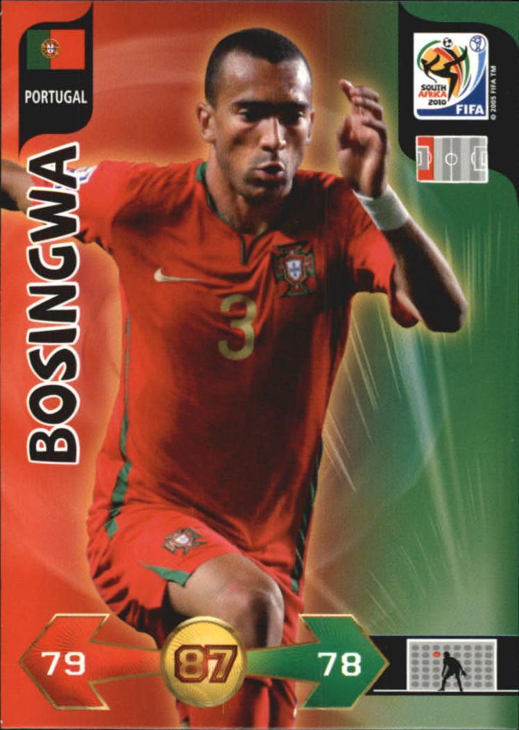 2010 Adrenalyn XL World Cup #27 Bosingwa
