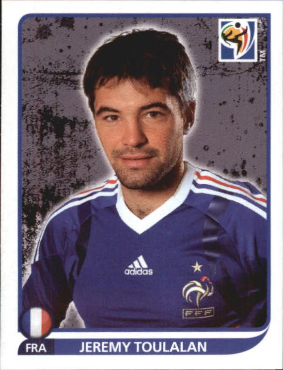 Panini WORLD CUP 2010-Jeremy Toulalan Francia no 96