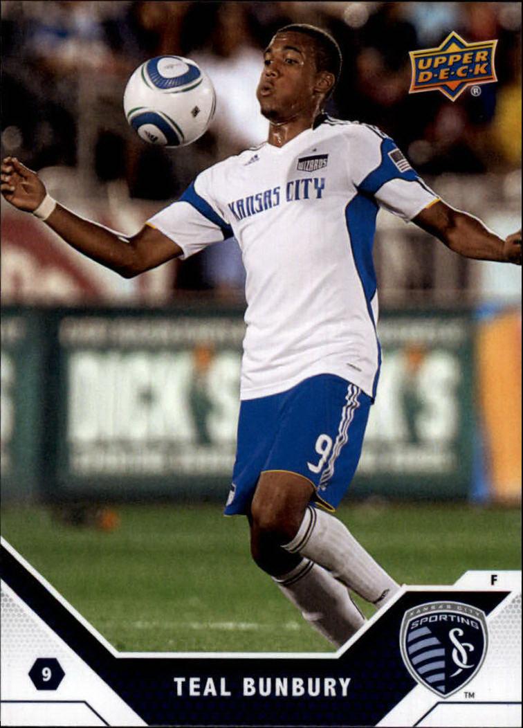 2011 Upper Deck MLS #79 Teal Bunbury