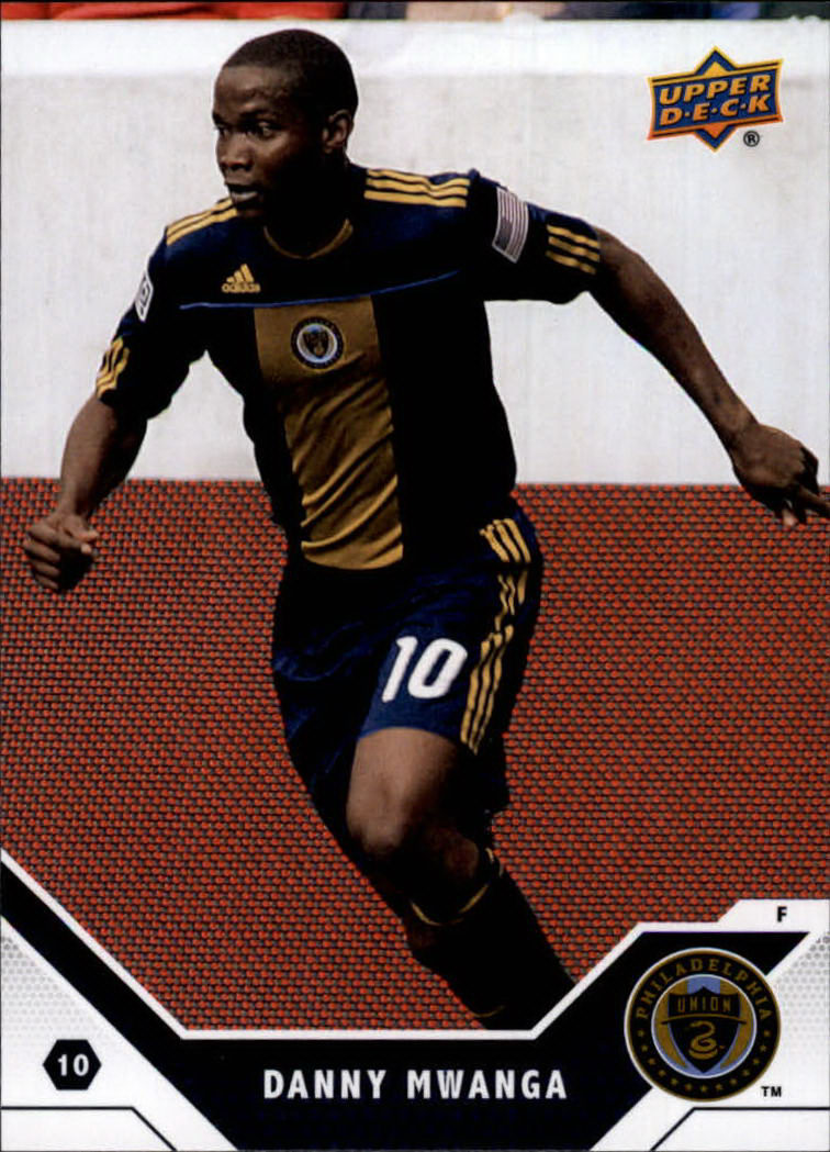 2011 Upper Deck MLS #117 Danny Mwanga