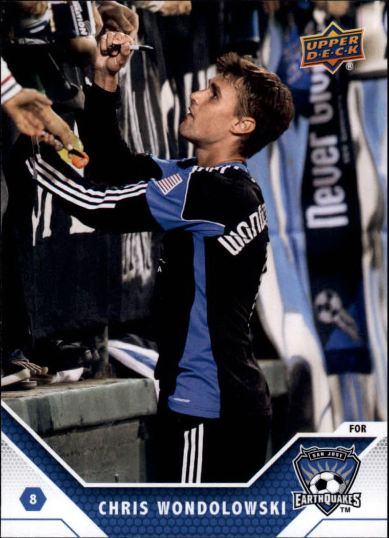 2011 Upper Deck MLS #147 Chris Wondolowski