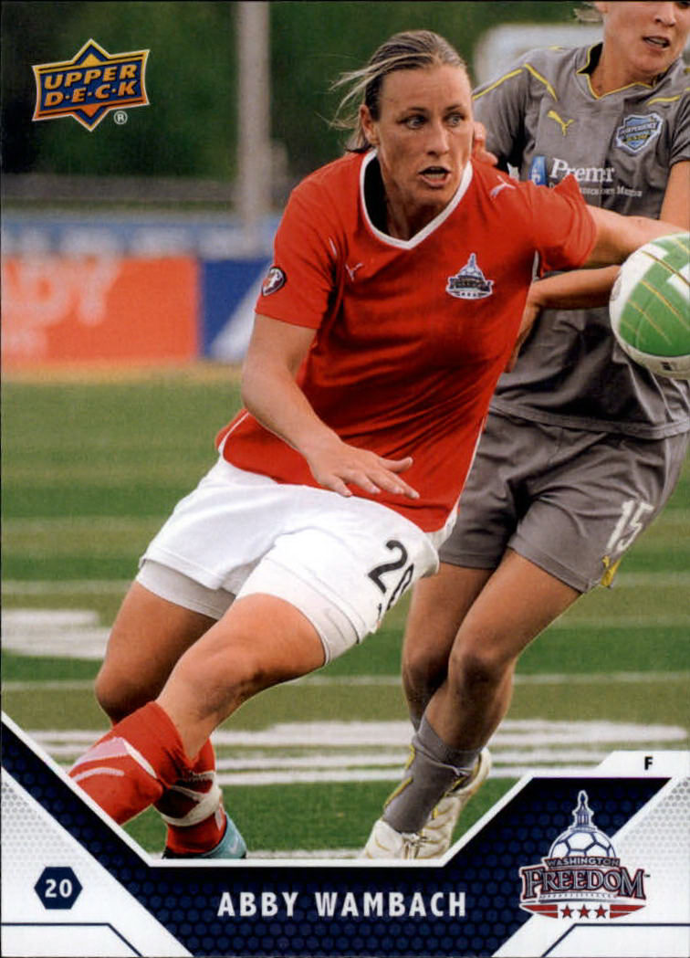 2011 Upper Deck MLS #196 Abby Wambach