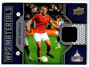 2011 Upper Deck MLS WPS Materials #AW Abby Wambach