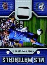 2011 Upper Deck MLS Materials Premium Series #CW Chris Wondolowski