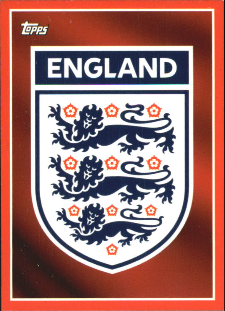 2005 Topps England #1 Team Badge