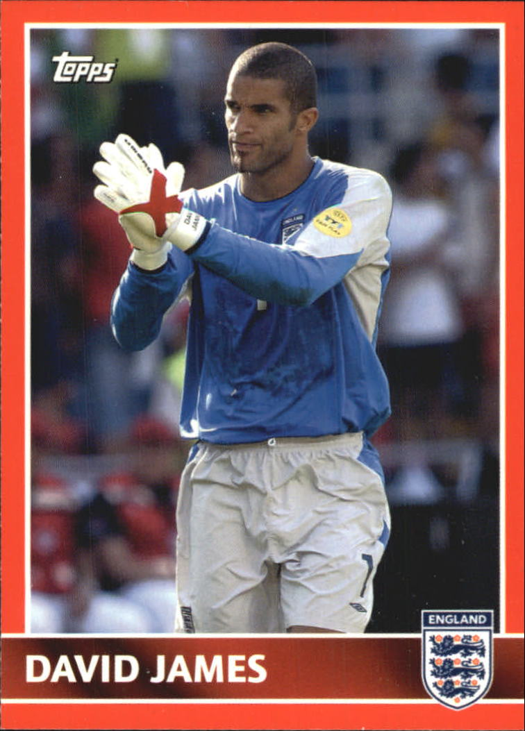 2005 Topps England #8 David James