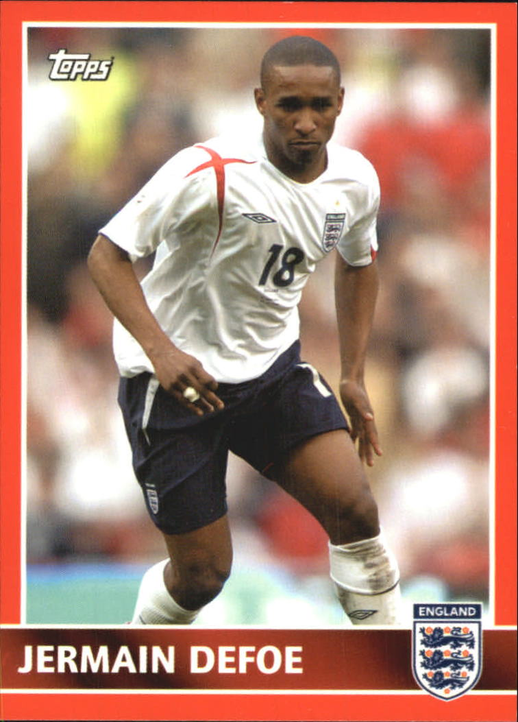 2005 Topps England #56 Jermain Defoe