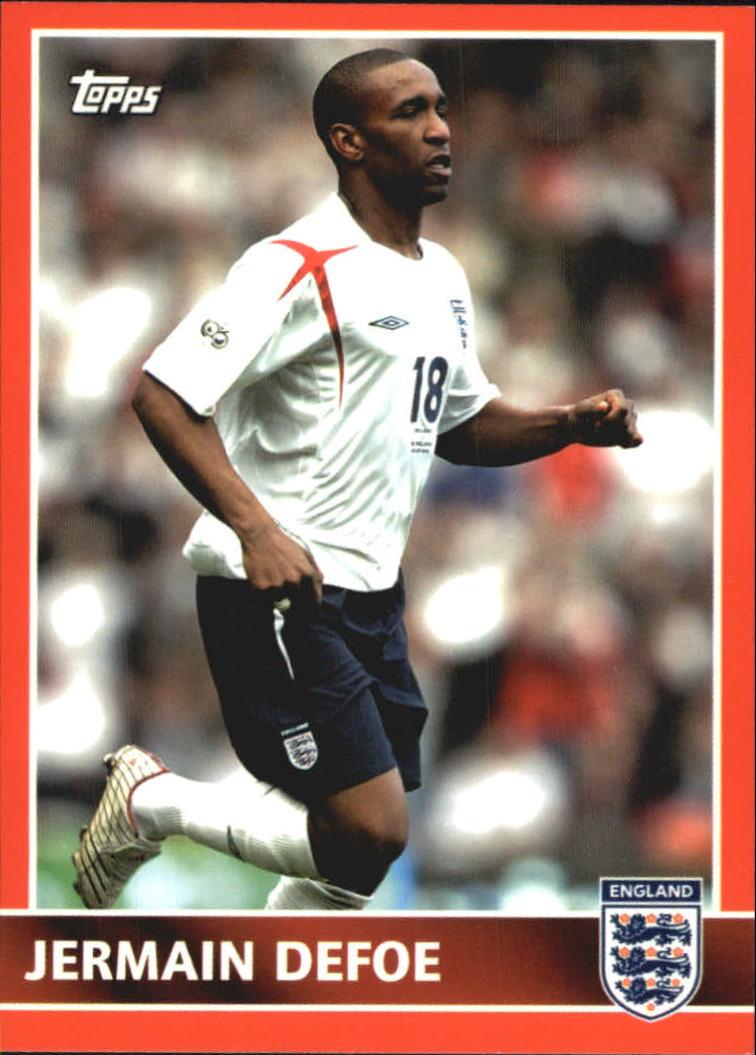 2005 Topps England #57 Jermain Defoe
