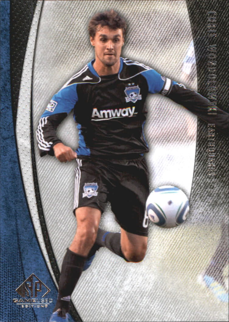 2011 SP Game Used #44 Chris Wondolowski