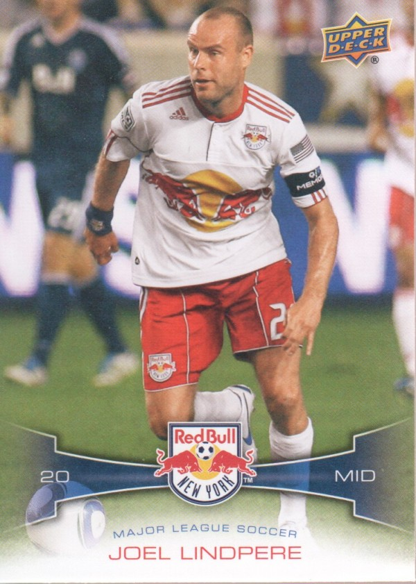 2012 Upper Deck MLS #101 Joel Lindpere
