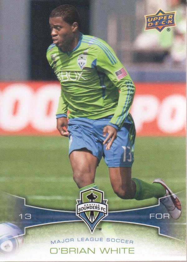 2012 Upper Deck MLS #123 O'Brian White