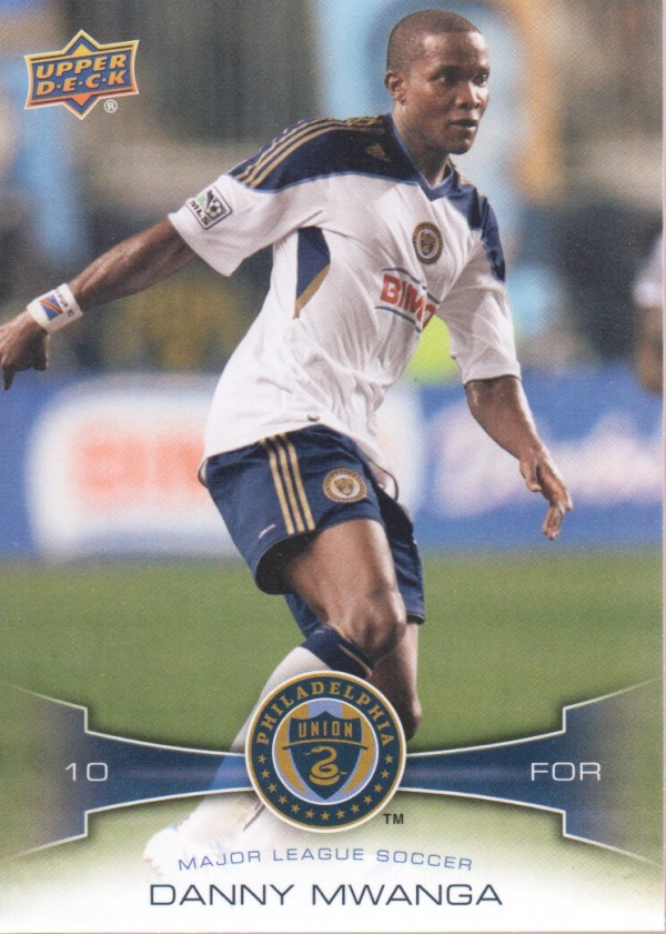 2012 Upper Deck MLS #149 Danny Mwanga