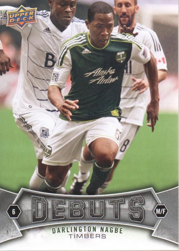 2012 Upper Deck MLS #177 Darlington Nagbe