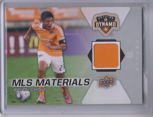 2012 Upper Deck MLS Materials #BC Brian Ching C
