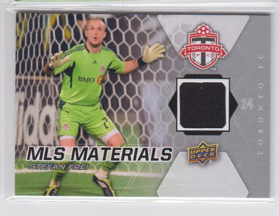 2012 Upper Deck MLS Materials #SF Stefan Frei D