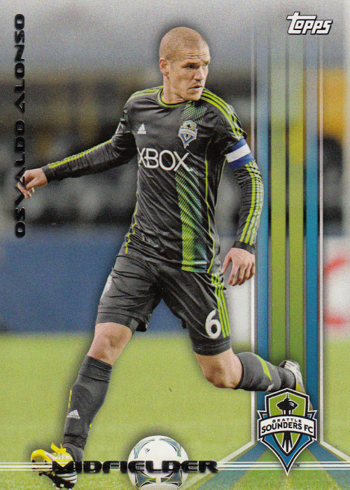 2013 Topps MLS #3 Osvaldo Alonso