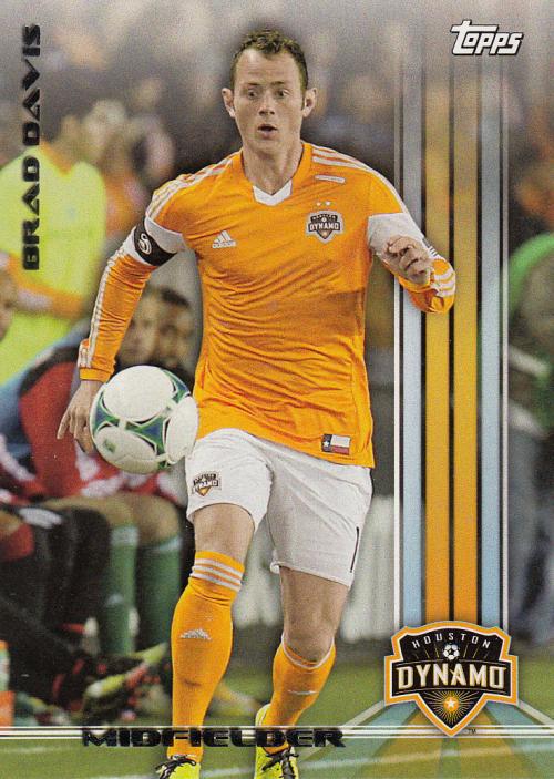 2013 Topps MLS #5A Brad Davis