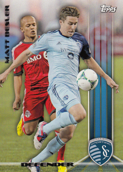 2013 Topps MLS #6 Matt Besler