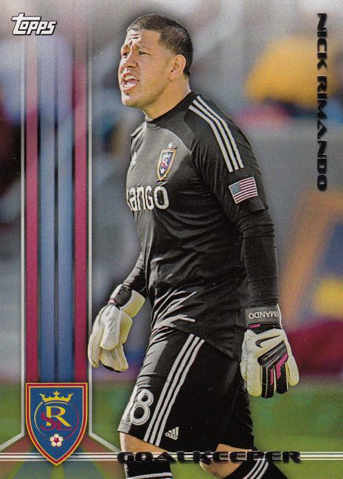 2013 Topps MLS #9 Nick Rimando