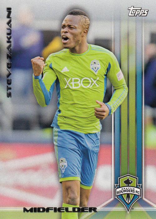 2013 Topps MLS #10 Steve Zakuani