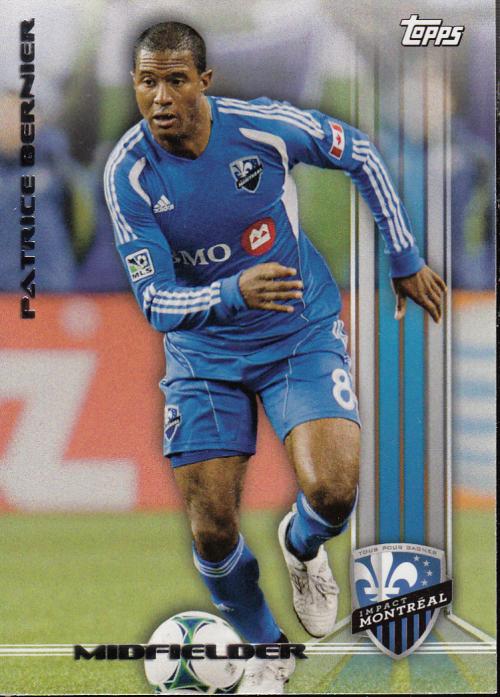 2013 Topps MLS #12A Patrice Bernier