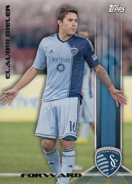 2013 Topps MLS #15 Claudio Bieler