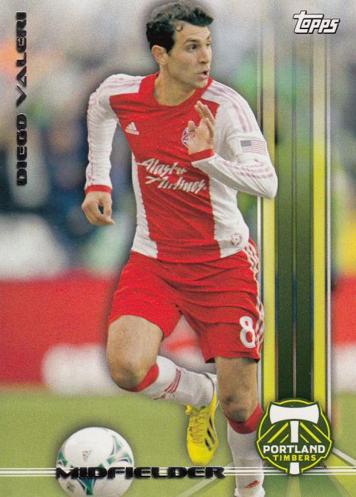 2013 Topps MLS #16 Diego Valeri