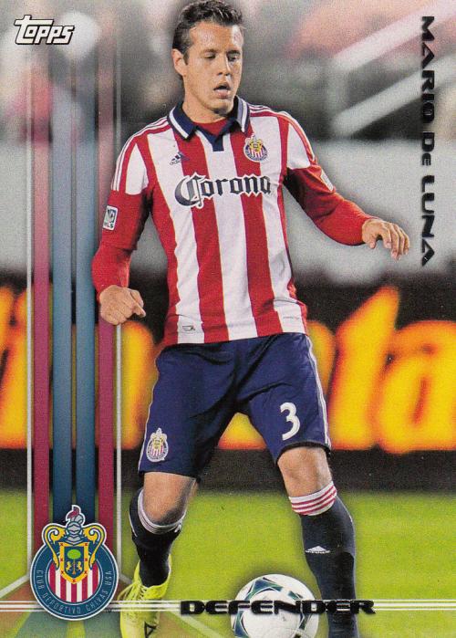 2013 Topps MLS #17 Mario de Luna