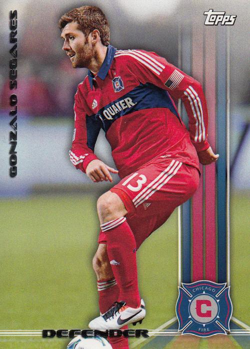 2013 Topps MLS #19 Gonzalo Segares