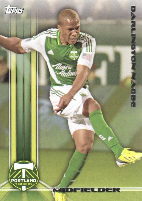 2013 Topps MLS #156 Darlington Nagbe