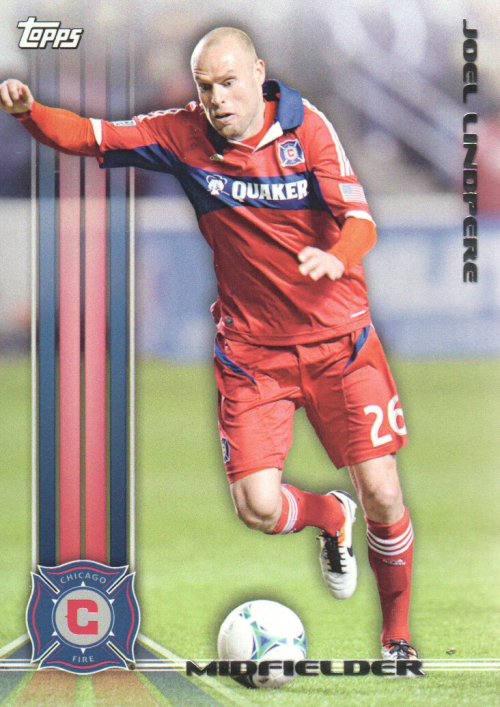 2013 Topps MLS #159 Joel Lindpere